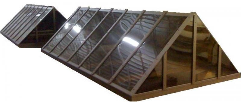 Gable End Ridge Skylight