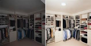 Solatube Closet Before and After